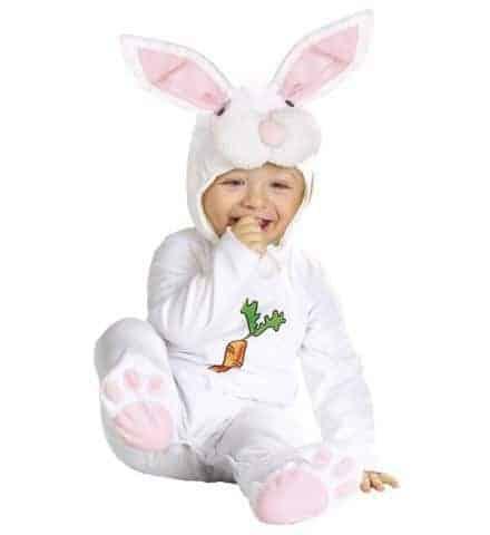 Mascotte bébé lapin