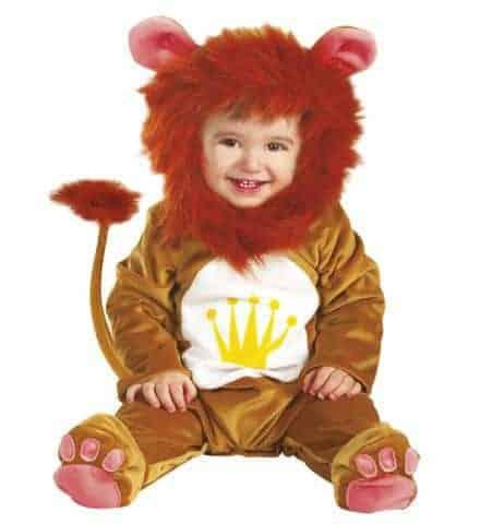 Déguisement du bébé lion