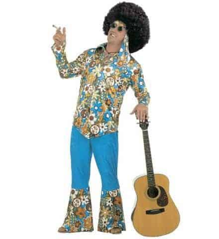 Costume hippie/afro