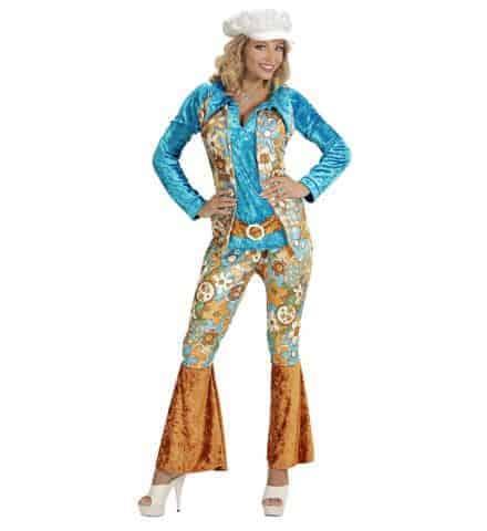 Costume velours hippie