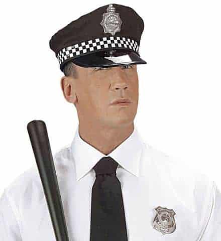 Casquette policeman anglais