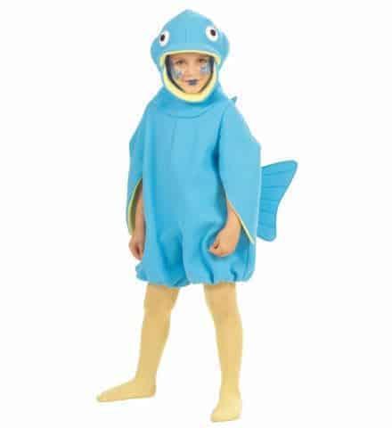 Mascotte poisson bleu