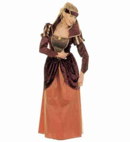 Robe reine medievale