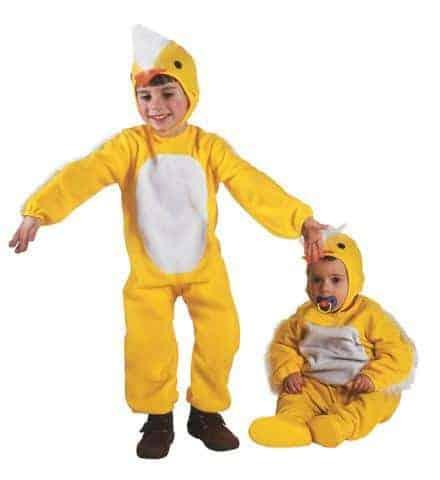 Costume poussin enfant