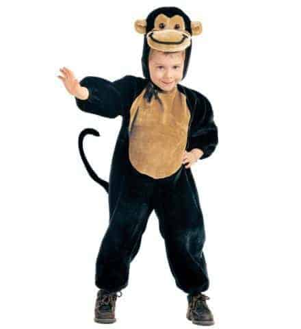 Costume de petit singe