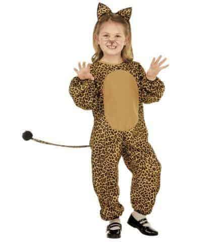 Costume léopard enfant