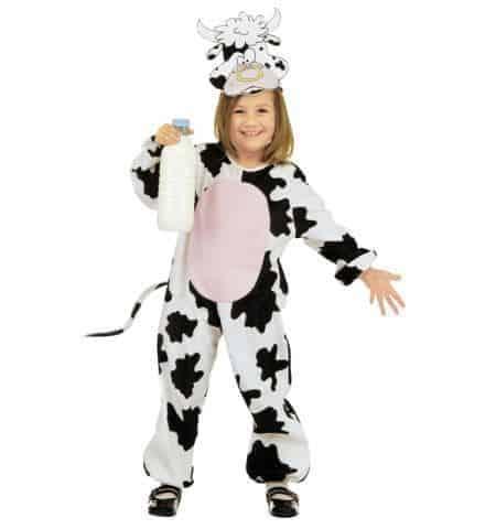 Costume peluche de vache