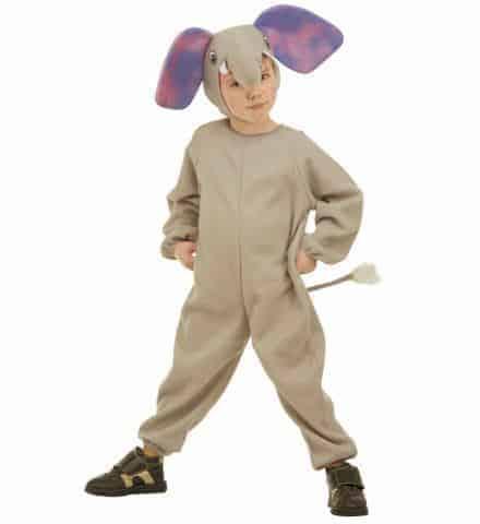 Costume petit elephant