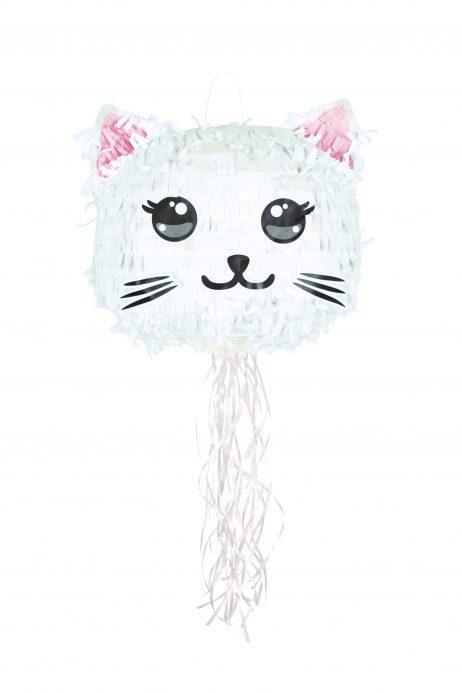 Pinata chaton blanc