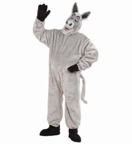 Costume peluche ane gris