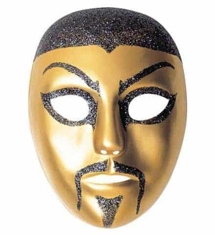 Masque chinois brillant
