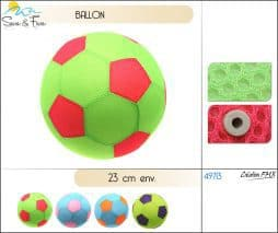 Ballon foot plage fluo