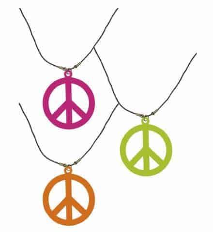 Collier neon hippie