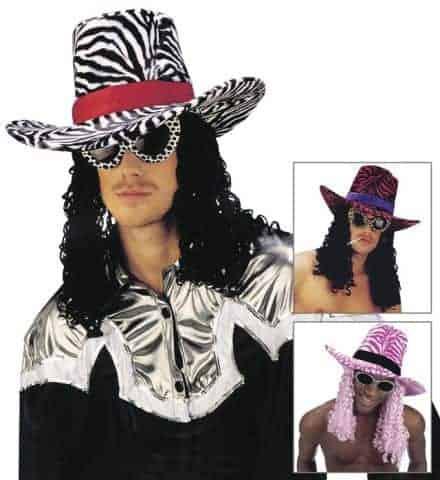 Chapeau funky velours