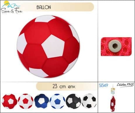 Ballon de foot pour plage