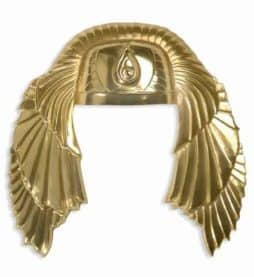 Coiffe dorée egyptienne