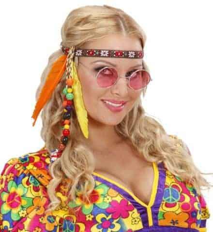 Bandeaux hippie cheveux