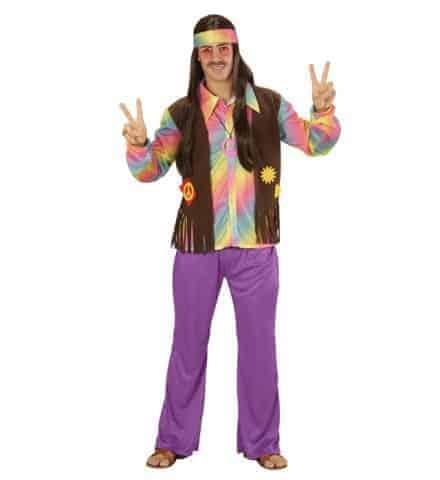 Costume homme hippie