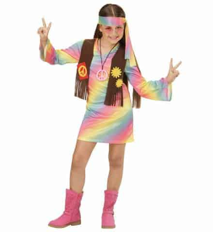 Costume fille hippie