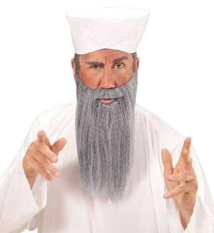Set visage cheikh arabe