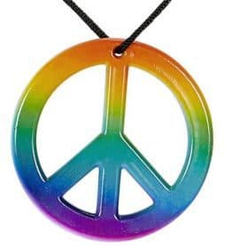 Collier peace and love