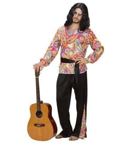 Homme hippie annees 70