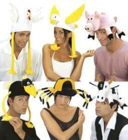 Pack chapeaux animaux