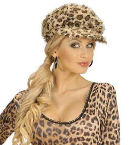 Casquette leopard