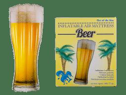 Matelas gonflable bière