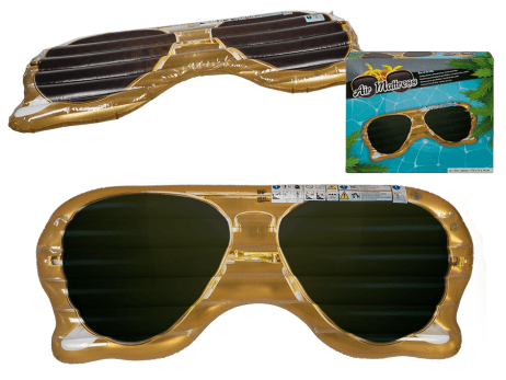 Matelas lunettes disco