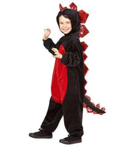 Déguisement dragon noir
