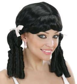 Perruque lolita noire