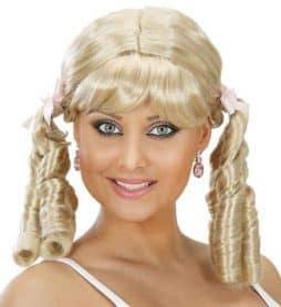 Perruque lolita blonde