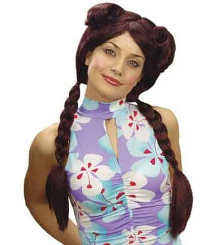 Perruque geisha akemi