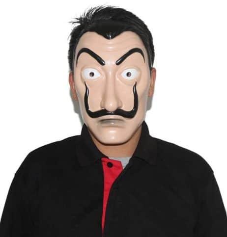 MASQUE SALVADOR DALI (Masque en plastique)