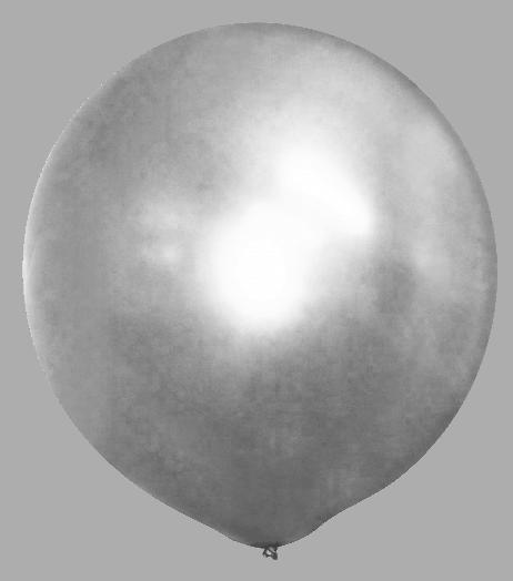 Ballon argent géant