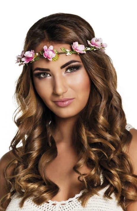 Bandeau cheveux fleurs