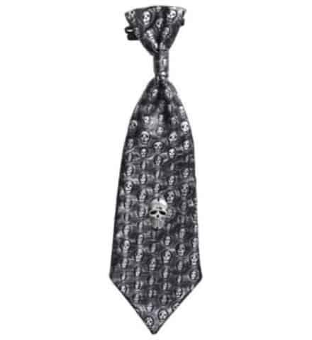 CRAVATE AVEC CRANES (Cravate effet métal)