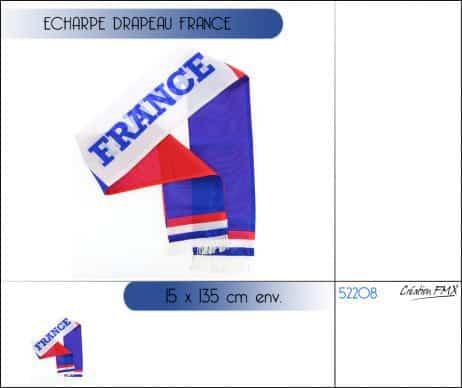 ÉCHARPE EQUIPE DE FRANCE (Supporter France BBR)