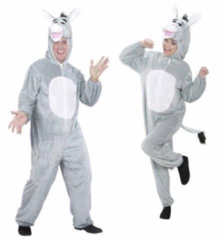 COMBINAISON ÂNE GRIS (Kigurumi pyjama peluche) Tailles adultes - Démo vidéo