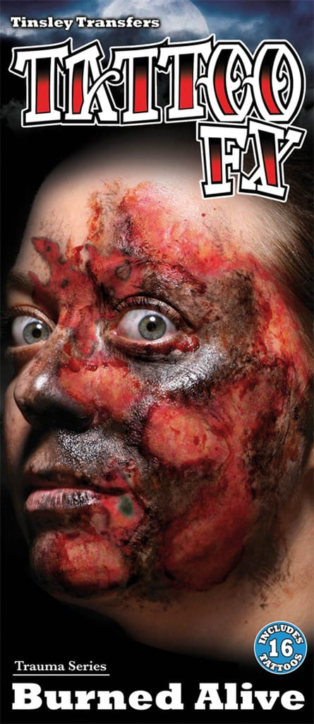 FX TATTOO BRÛLURE (Tatouage sur visage)
