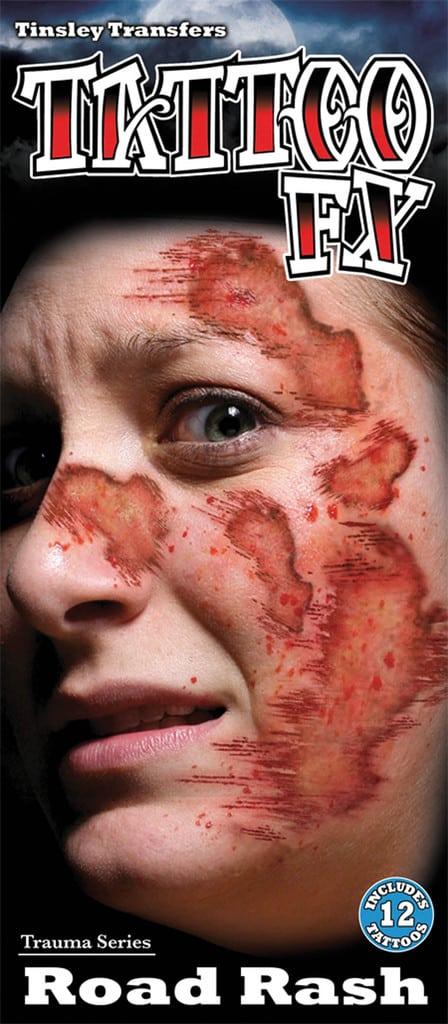 FX TATTOO ACCIDENT (Tatouage sur visage)