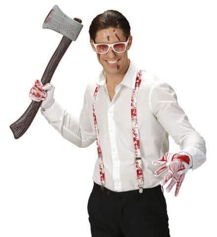 KIT PSYCHO SANGLANT (Bretelles, gants et lunettes)