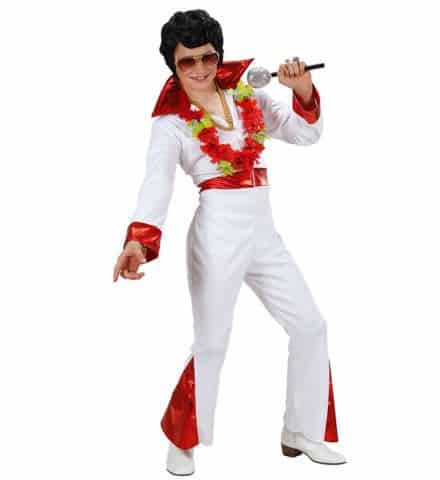 KING OF ROCK'N'ROLL (Costume Elvis Presley) Tailles enfants de 5 à 13 ans
