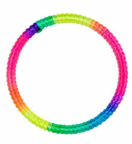 BRACELET MULTICOLORE (Bracelet néon)
