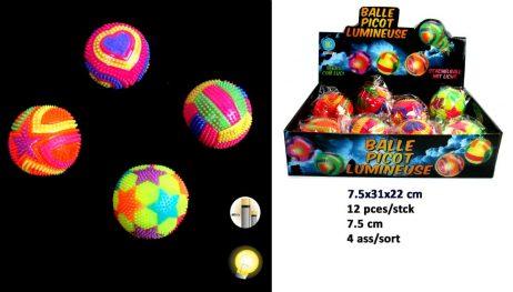 BALLES REBONDISSANTES (Balles lumineuses 7.5 cm)