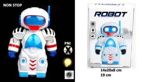 ROBOT SON ET LUMIÈRE (Taille 19 cm)