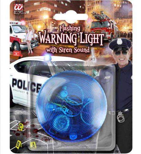 GYROPHARE DE POLICE (Lumière bleue et son)