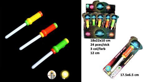 PETITS BÂTONS LUMINEUX (Longueur 12 cm - 3 coloris)
