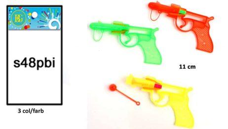 PISTOLET BOUCHON (Dimension 11 cm - 3 coloris)